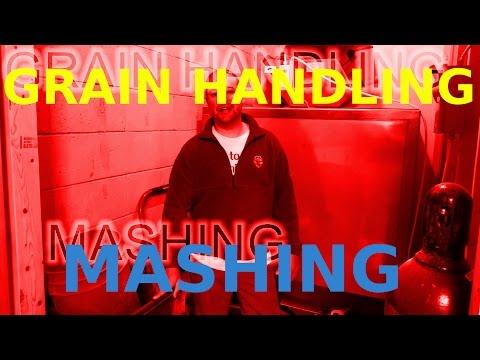 MASHING & GRAIN HANDLING! How To: Microbrewery!!