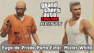 GTA V Online Heist PS4: Fuga da Prisão Parte Final - Libertando o Mister White
