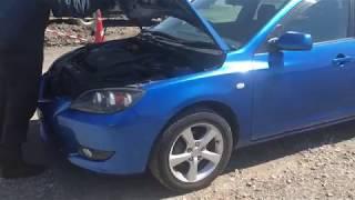 Видео-тест автомобиля Mazda Axela (BKEP-101132, LF-DE, 2003г)