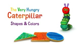 The Very Hungry Caterpillar - Shapes and Colors, out now on the App Store and Google Play