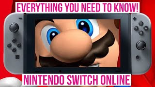 NEW NINTENDO SWITCH PAID ONLINE SUBSCRIPTION SERVICE! ALL THE DETAILS! PRICE, FEATURES & LAUNCH DATE