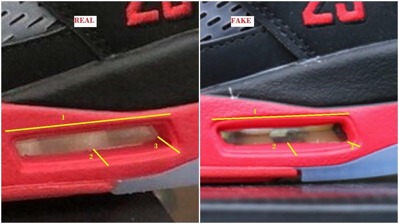 Real Vs Fake Air Jordan 5 Top3, Quick