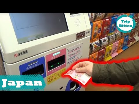 The Best Currency Vending Machine In Japan