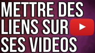 [TUTO] ► Comment mettre des liens sur une vidéo Youtube