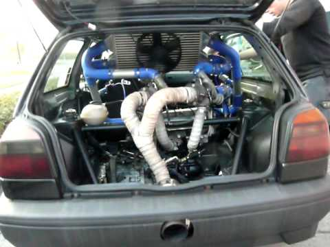 golf 3 vr6 bi turbo heckmotor rwd im standgas youtube. Black Bedroom Furniture Sets. Home Design Ideas