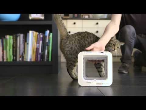 The SureFlap Microchip Cat Flap - TRIXIE