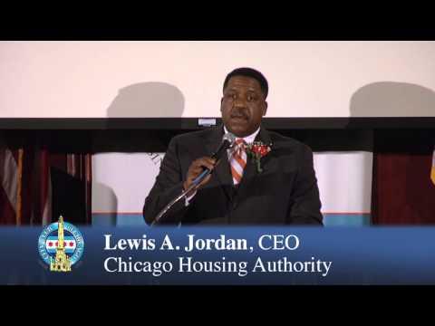 Lewis Jordan -- CEO, Chicago Housing Authority