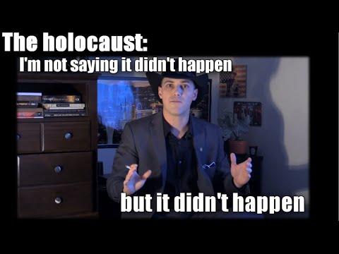 Davis Aurini TOTALLY NOT a holocaust denier!