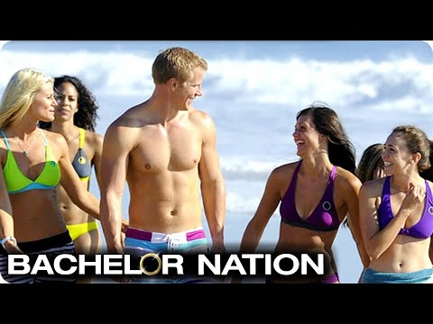 Sean Takes Group Date To Beach Volleyball | The Bachelor US