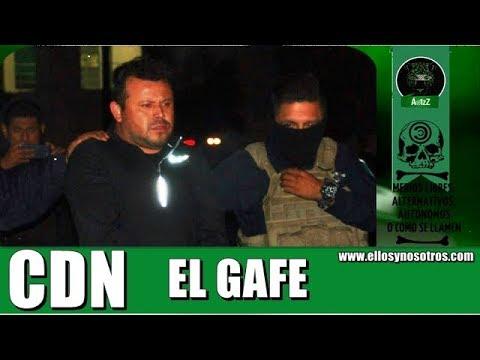 Detienen a El Gafe del CDN en Guadalupe, NL