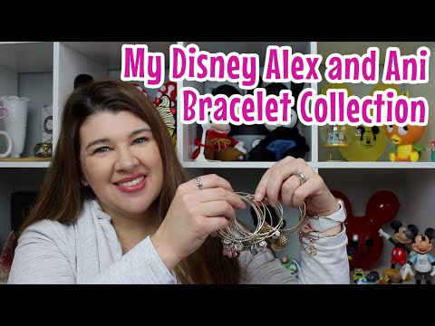 DISNEY ALEX AND ANI BRACELET COLLECTION