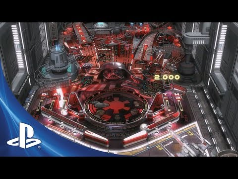 Star Wars Pinball trailer reveals Darth Vader's personal table