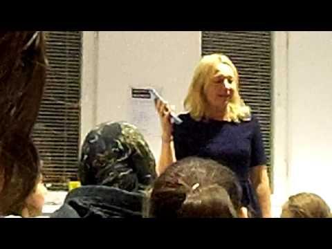 Författarbesök - Martina Haag (I)