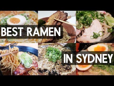 BEST RAMEN IN SYDNEY feat. RamenRaff