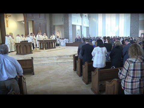 Saint Anne Catholic Church Rite of Dedication