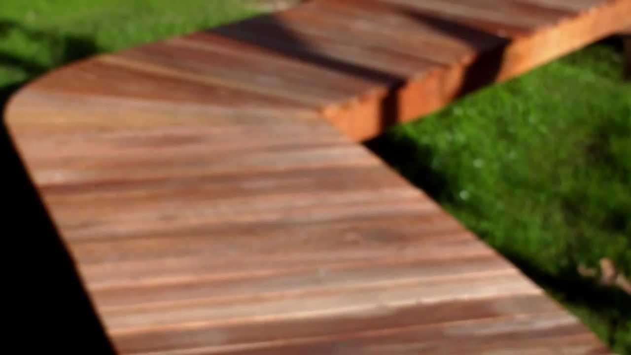 Camino de madera delta de tigre argentina youtube - Sofas con palets para jardin ...