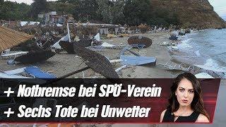 SPÖ-Verein zieht Notbremse ++ Sechs Tote bei Unwetter | krone.at NEWS