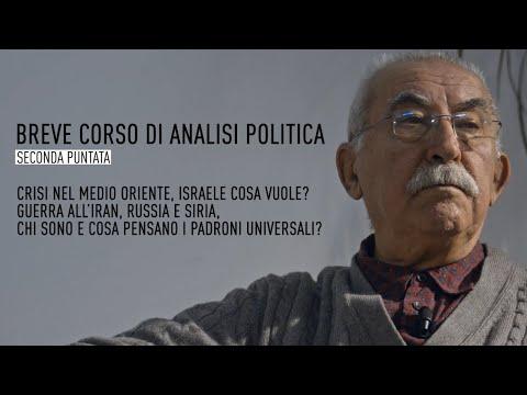 BREVE CORSO DI ANALISI POLITICA - SECONDA PUNTATA