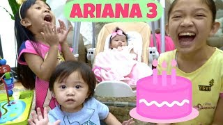 ARIANA 3rd MONTHSARY