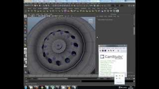How to Model a Truck Wheel in Maya 2013