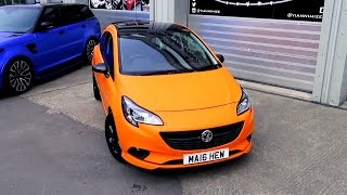Vauxhall Corsa Wrapped Matte Orange