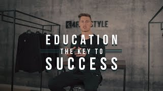 Why Education is the key to Success // Tobias Becs