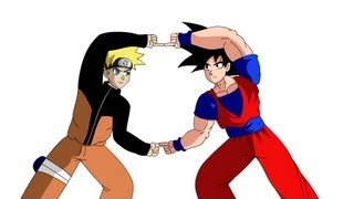 Fusion Project: Goku and Naruto (Version 2)