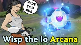 wisp the io arcana from portal high quality memes by valve