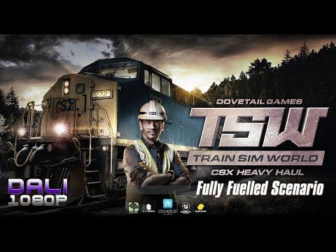 Train Sim World: CSX Heavy Haul - Fully Fuelled Scenario 100% Completed