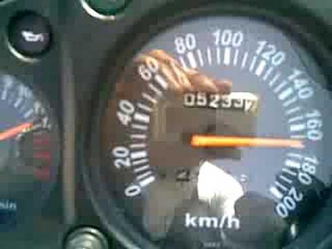 ninja 250r top speed 175km/h!!!! - YouTube