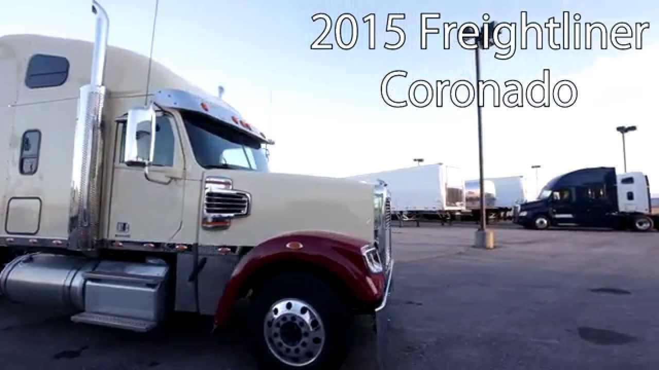 2015 Freightliner Coronado From Lone Mountain Truck Leasing Youtube