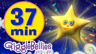 Video Twinkle Twinkle Little Star | 11 More Lullabies & Nursery Rhymes | Giggle Bellies download MP3, 3GP, MP4, WEBM, AVI, FLV Juli 2018