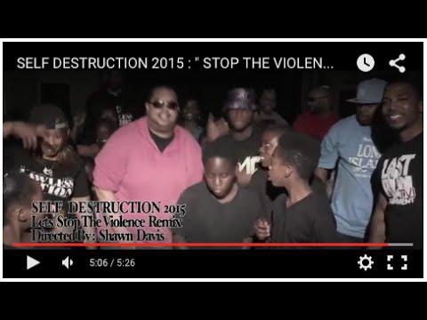SELF DESTRUCTION  2015 :