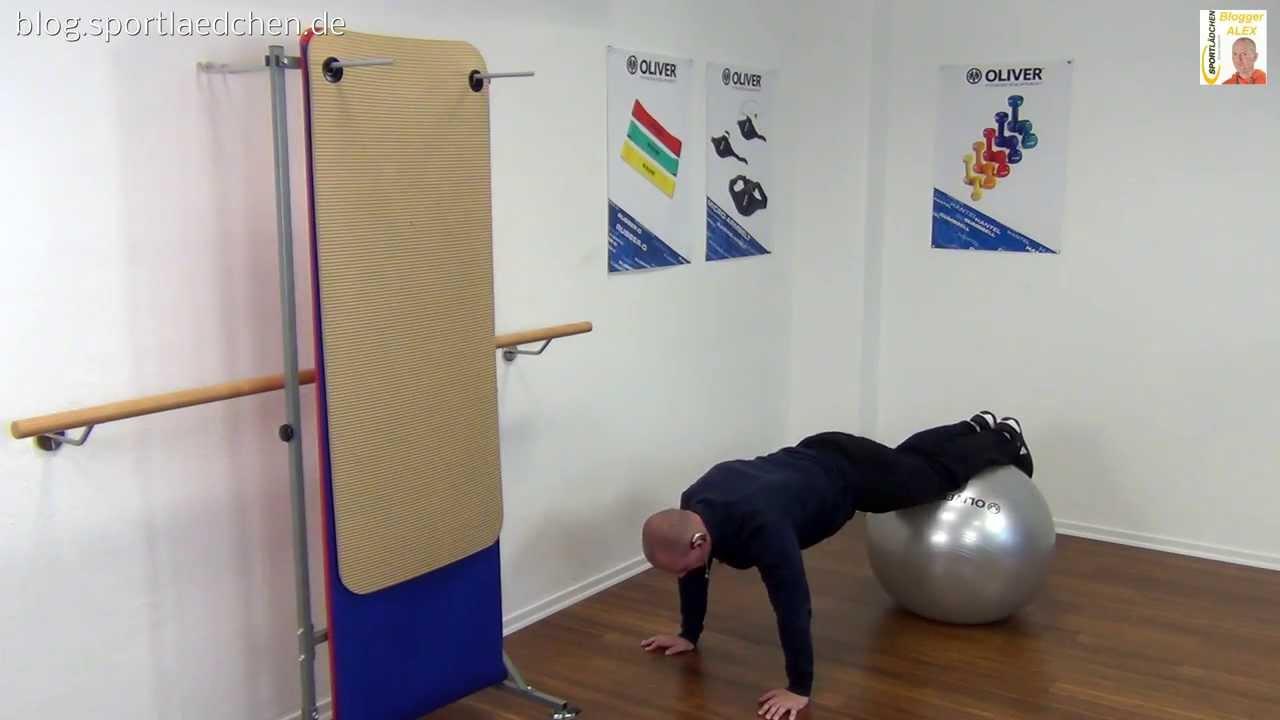gymnastikball bungen fitball vol 2 youtube. Black Bedroom Furniture Sets. Home Design Ideas