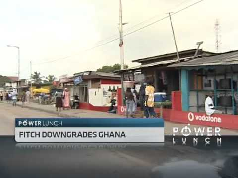 Fitch Downgrades Ghana's Outlook