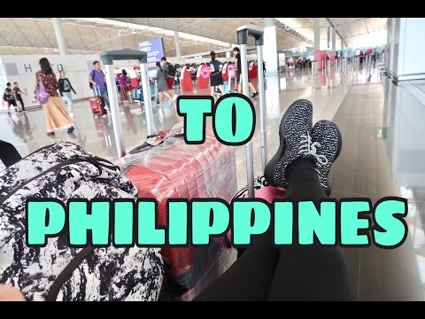 23HOURS TRAVEL TO PHILIPPINES 2017 | SHYNESSLAVZ