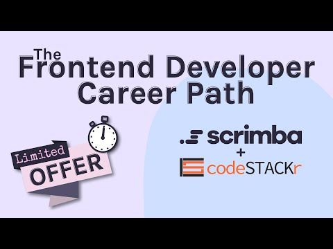 Limited Offer! The Frontend Developer Career Path (@Scrimba)