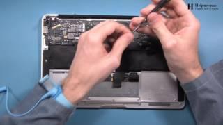 Замена клавиатуры на MacBook Air 11