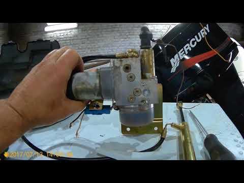 Делаем сами гидроподъём к лодочному мотору