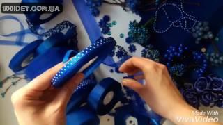 Лента атласная 0,6 см синяя в горошек(Арт.:503-015-6 Лента атласная 0,6 см синяя в горошек Цена: за 1 рулон (45 м): 60,42 грн за 10 рулонов(450 м): 533,85 грн Заинтере..., 2017-02-02T14:42:38.000Z)