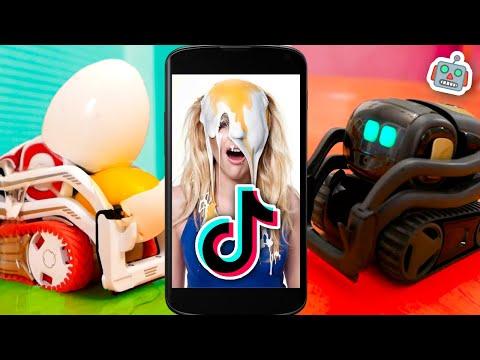Funny TikTok Pranks: Vector Plays PRANKS on Cozmo Robot