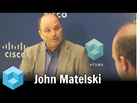 John Matelski - Cisco @ Oracle OpenWorld 2015 - theCUBE - #OOW15