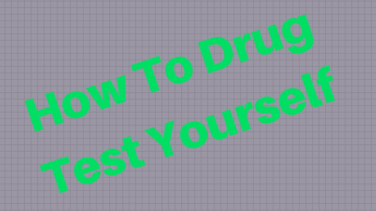 How to drug test yourself drug test home youtube how to drug test yourself drug test home solutioingenieria Choice Image