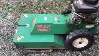 Billy Goat Brush cutter video
