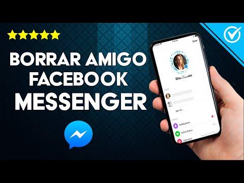 Cómo Borrar o Eliminar un Amigo o Contacto en Facebook Messenger