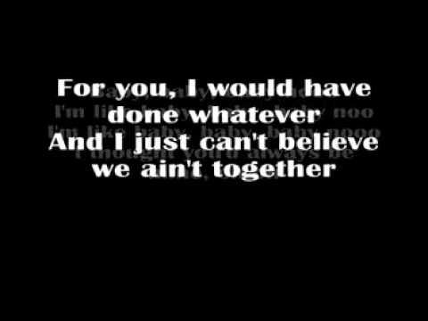Justin Bieber - Baby (Acoustic Version) Lyrics