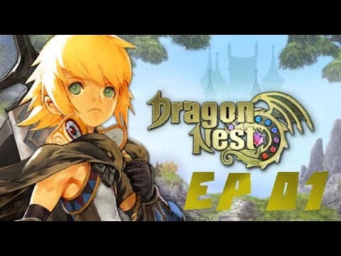 Let's Play Dragon nest | Ep 01