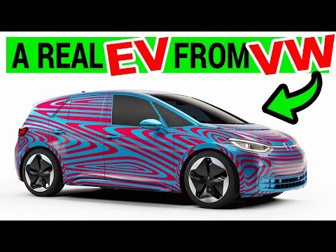 VW Goes Electric... Again! with VW ID.3 Electric Hatchback