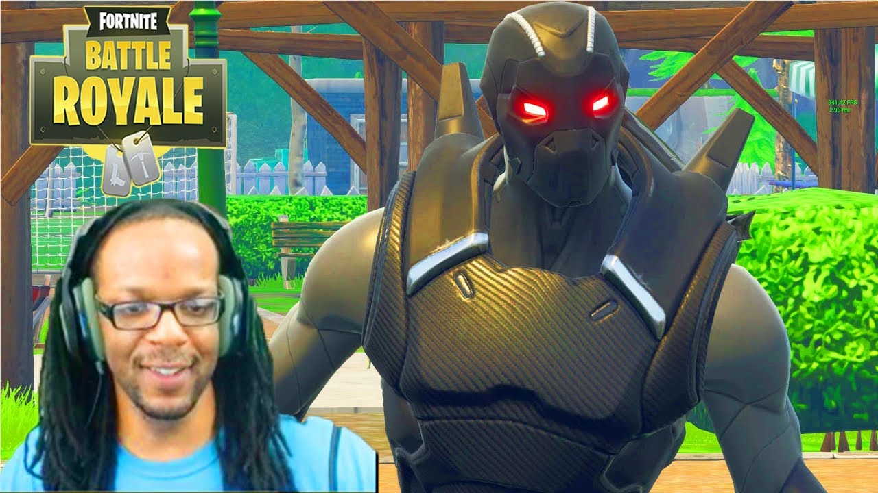 Fortnite Omega Gear Level  Made Me The Fastest Builder In The World Daryus P