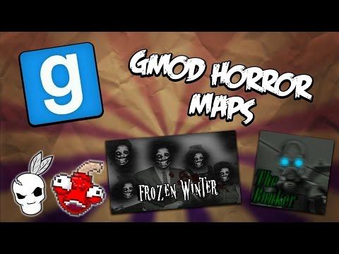 Gmod Horror Maps!! - The Bunker, Frozen Winter